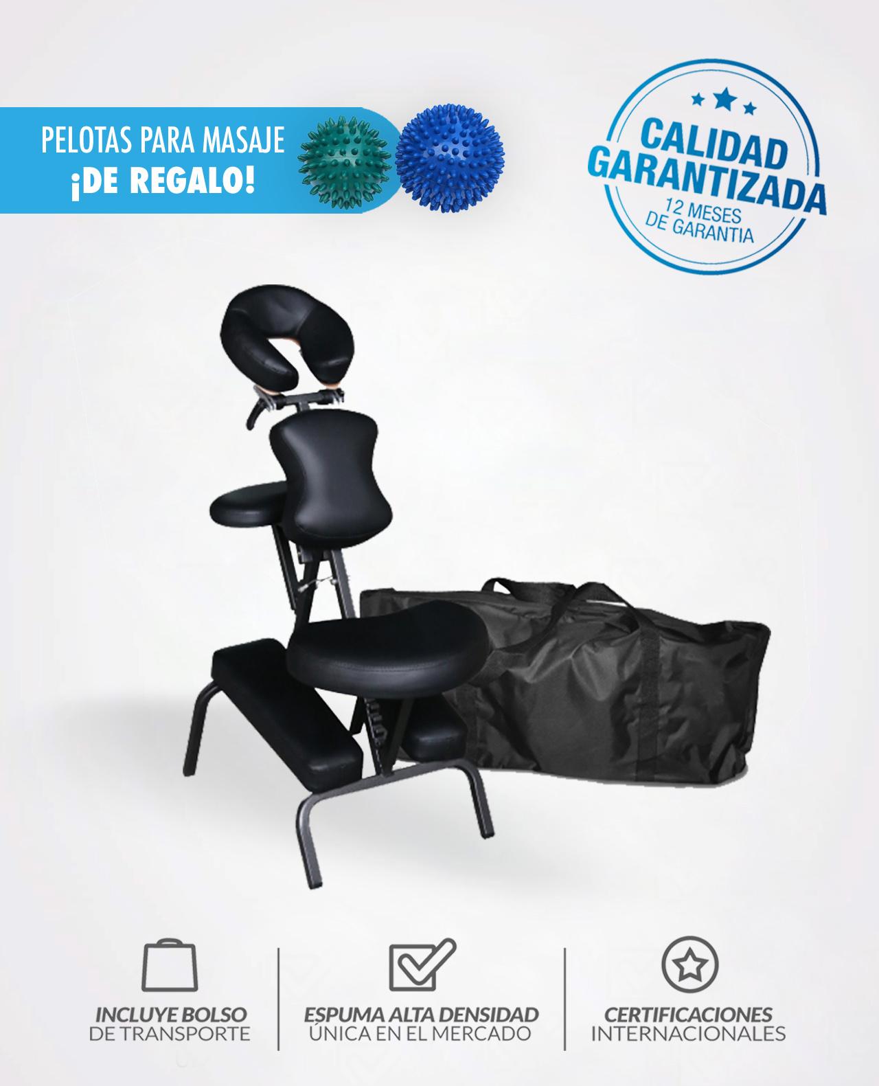 Silla De Masajes Plegable S1 Pelotas